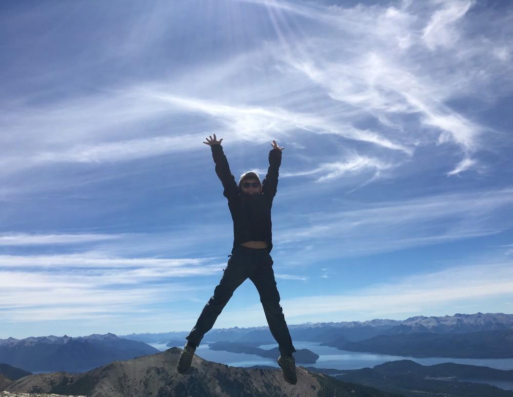 Ciel bleu de Bariloche